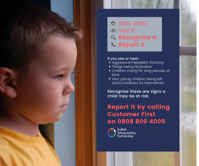 Recognise signs a child may be at risk