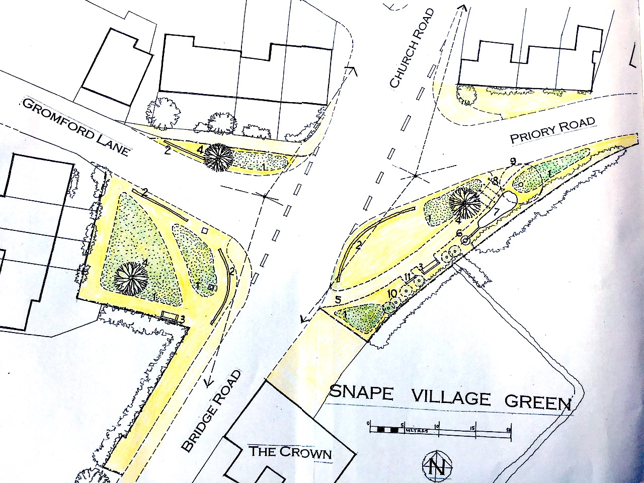 Snape Village Green proposal