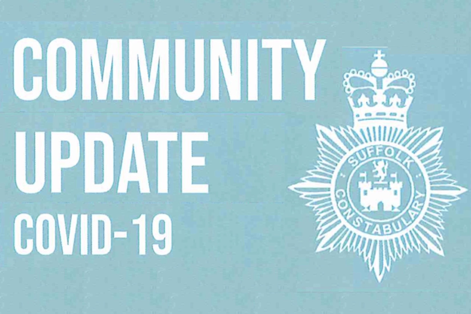 Police Community Update Covid19, 22'3'21