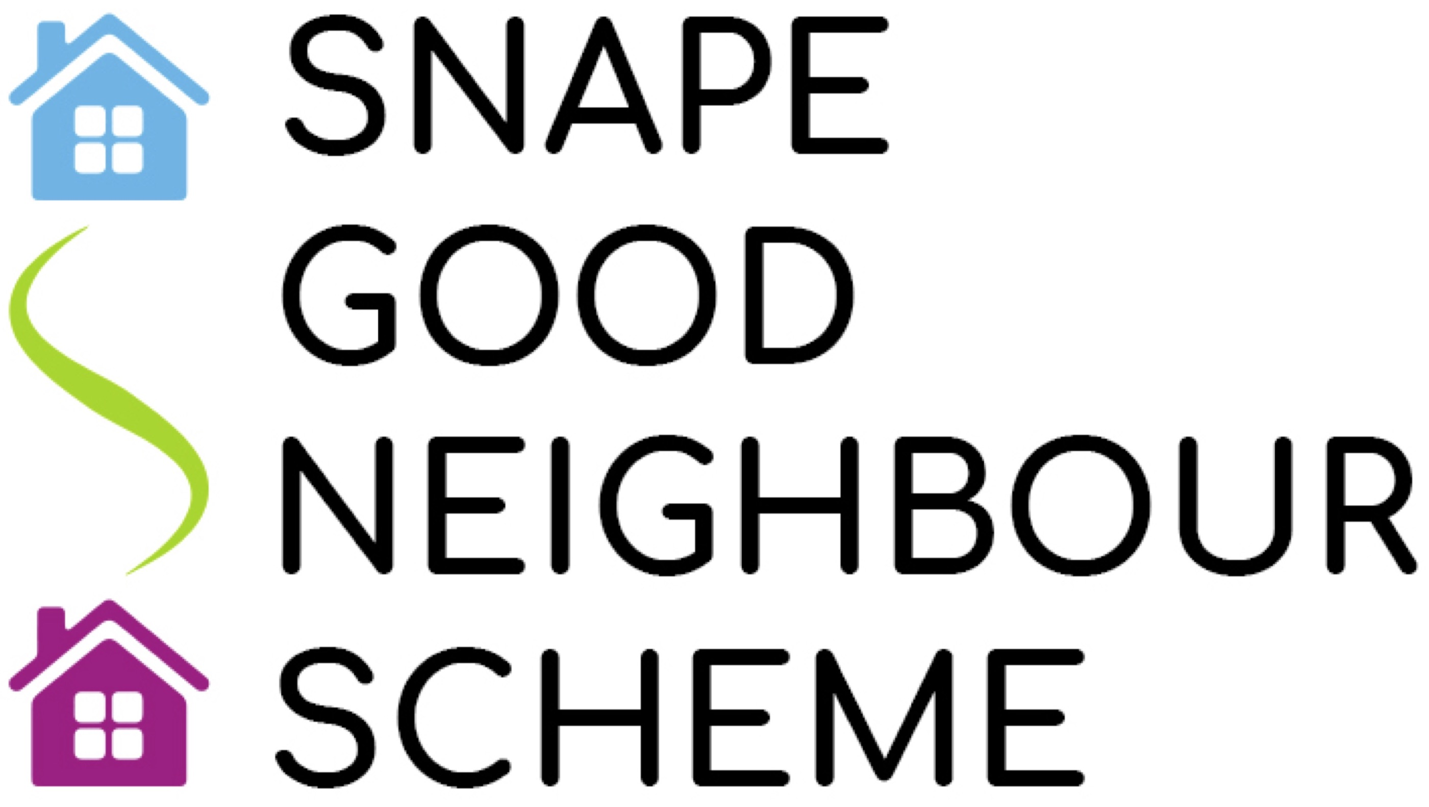 Snape Good Neighbour Scheme logo, which appears on Volunteers' passes