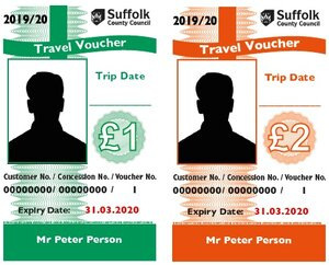 £100-worth of Travel Vouchers per year