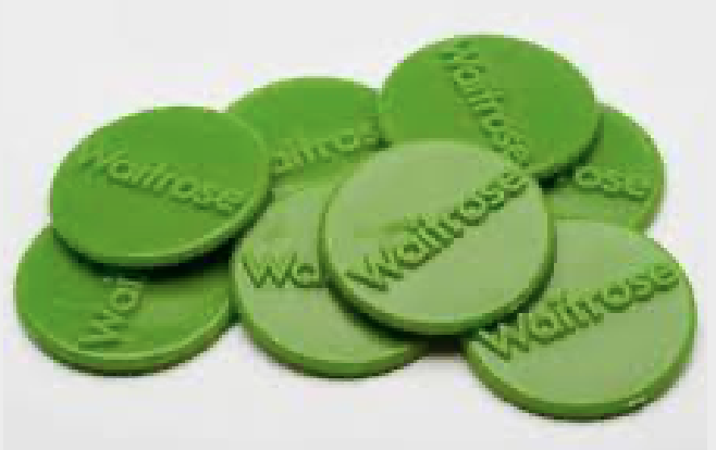 Waitrose tokens for GreenSnape!